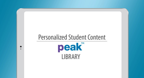 PEAK - Personalized Student Content