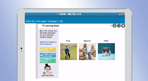 ELL Digital Curriculum Demo