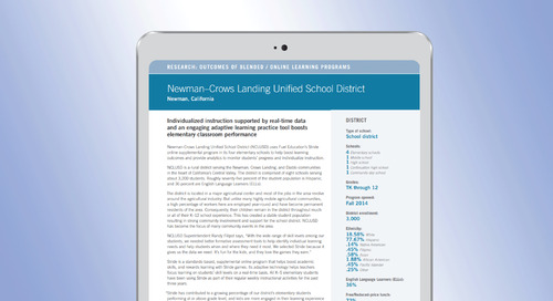 Case Study: Newman-Crows Landing Unified School District