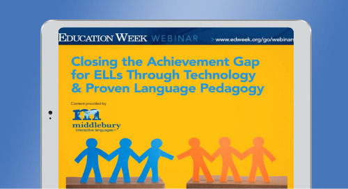 Closing the Achievement Gap for English Language Learners
