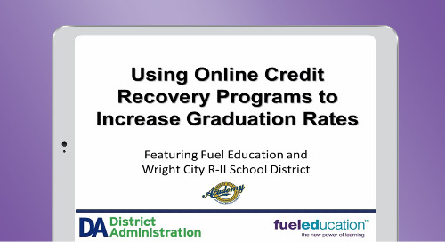 Using Online Credit Recovery Programs to Increase Graduation Rates