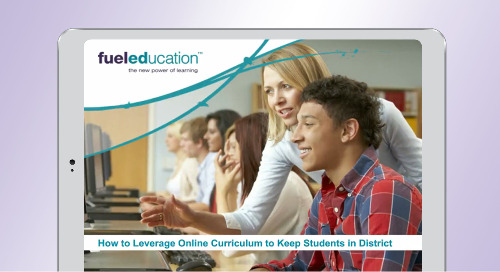 Leverage Online Curriculum to Keep Students in District