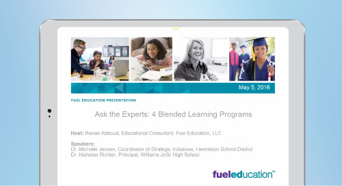 Ask the Blended Learning Program Experts Webinar