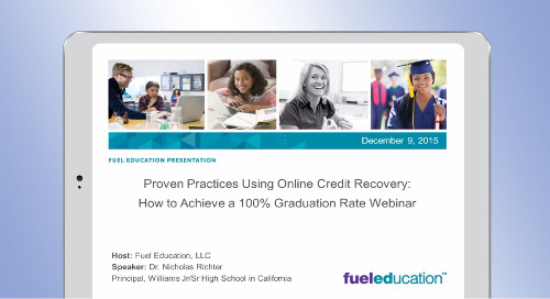 Proven Practices Using Online Credit Recovery