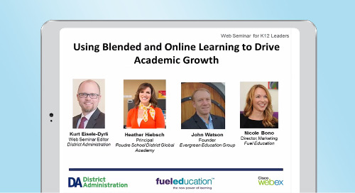 Using Blended and Online Learning to Drive Academic Growth