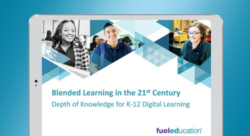 Webinar: Depth of Knowledge for K-12 Digital Learning
