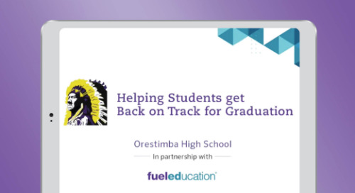 Orestimba High School is Helping Students Get Back on Track for Graduation