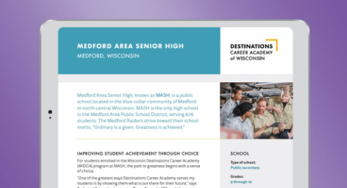 Medford Area Senior High School Case Study