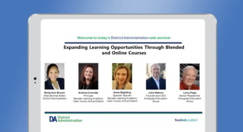 Expanding Learning Opportunities Through Blended and Online Courses