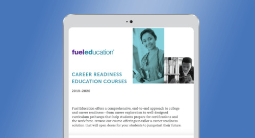 Fuel Education's 2019-2020 Career Readiness Education Course List
