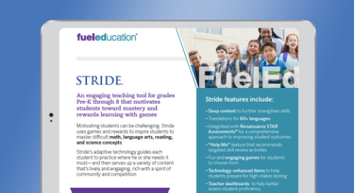 Rewards-Based Learning Solution Brochure