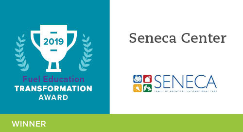 Seneca Center – 2019 Transformation Award Winner