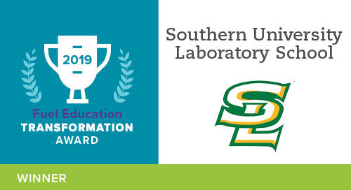Southern University Laboratory Virtual School – 2019 Transformation Award Winner
