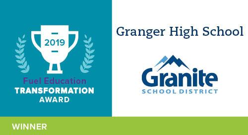 Granger High School – 2019 Transformation Award Winner