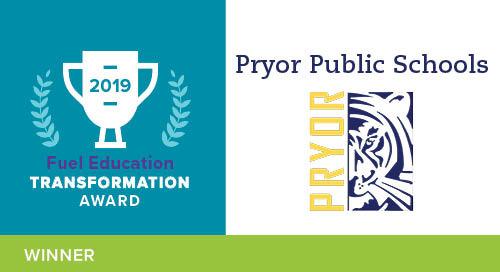 Pryor Public Schools – 2019 Transformation Award Winner