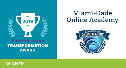 Miami-Dade Online Academy – 2019 Transformation Award Winner