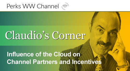 Influence of the Cloud on Channel Partners and Incentives