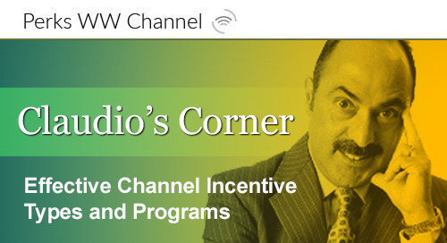 Effective Channel Incentive Types and Programs