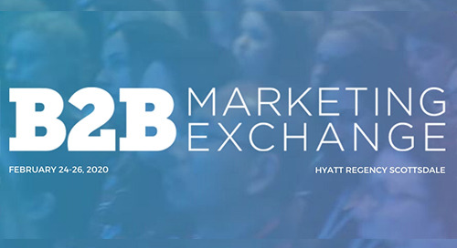 Perks WW Channel attending B2B Marketing Exchange 2020