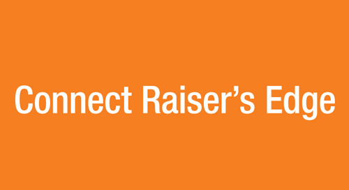 Introducing Connect Raiser's Edge (RE)!