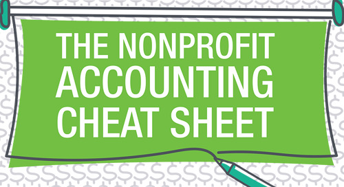 The Nonprofit Accounting Cheatsheet