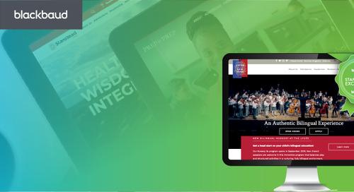 Three Blackbaud K-12 School Websites Honored in the 2018 WebAwards