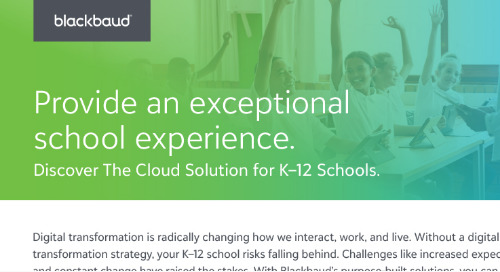 Discover The Cloud Solution for K-12 Schools