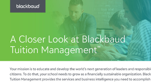 A Closer Look at Blackbaud Tuition Management