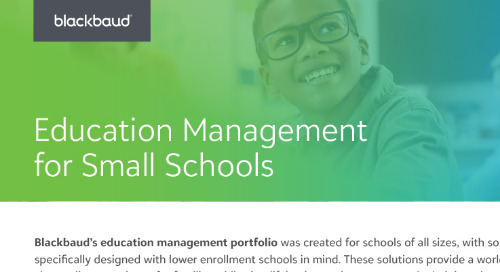Education Management for Small Schools