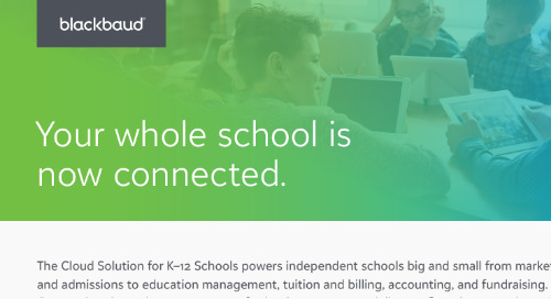 The Cloud Solution for K–12 Schools