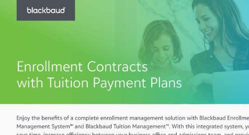 Enrollment Contracts and Payment Plans