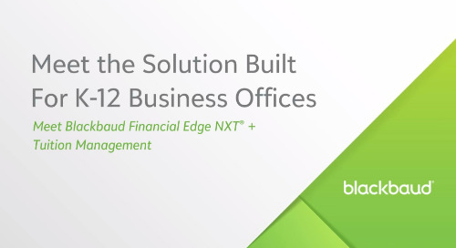 Meet the Financial Management Solution Built for K–12 Business Offices