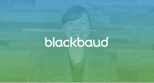 Introduction to Blackbaud Enrollment Management System