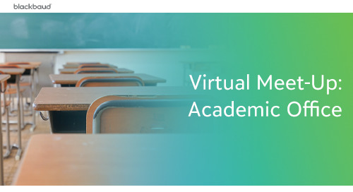 K-12 Virtual Meet Up: Academic Offices