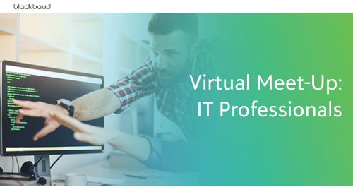 K-12 Virtual Meet-Up: IT Professionals