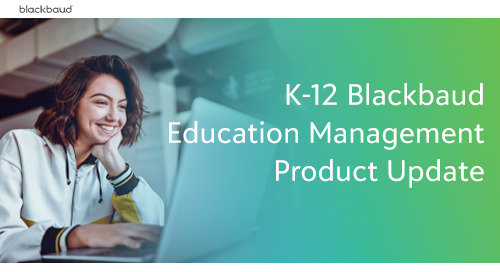 Education Management Product Update