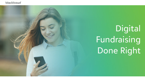 Digital Fundraising Done Right