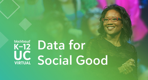 Talithia Williams' Keynote: Embrace Data for Social Good