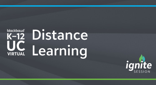 UC20 Ignite: How has Distance Learning Changed the Ed-Tech Landscape