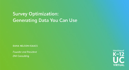 Survey Optimization: Generating Data You Can Use