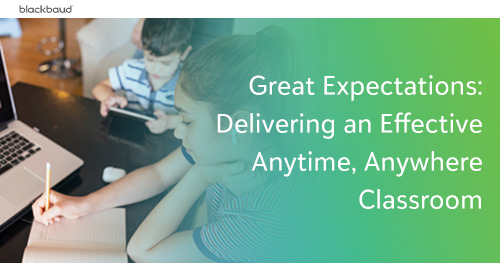 Great Expectations: Delivering an Effective Anytime, Anywhere Classroom