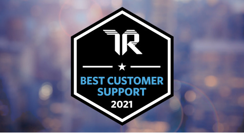 Blackbaud Education Management Wins a TrustRadius 2021 Best Customer Support Award