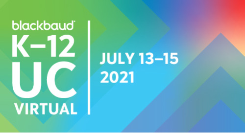 Blackbaud K–12 UC Virtual registration is now open!