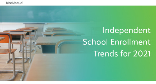 Independent School Enrollment Trends for 2021