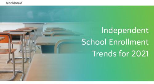 Independent School Enrollment Trends for 2021