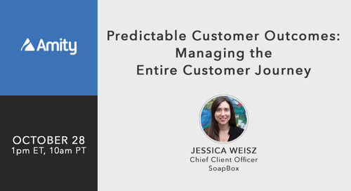 [Webinar] Predictable Customer Outcomes Managing the Entire Customer Journey