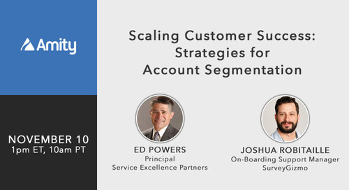 [Webinar] Scaling Customer Success: Strategies for Account Segmentation