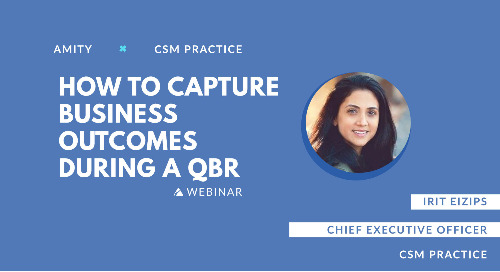 How to Capture Business Outcomes during QBRs