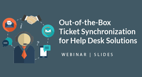Out-of-the-Box TicketSync | Help Desk Solutions | Presentation Slides