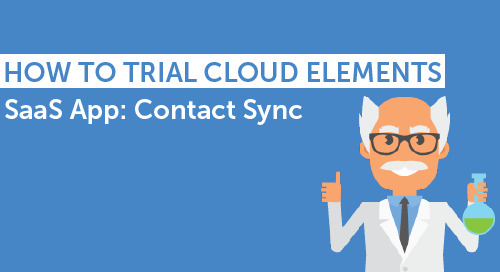 Guide to Cloud Elements Trial: Contact Sync